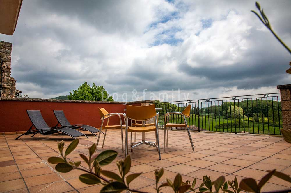 Terrassa apartament Can Vilafort