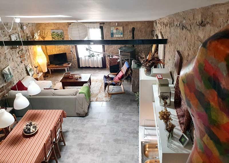 Visió general de l'apartament de Can Pinyol
